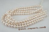 rounds11-12  11-12mm white freshwater off round pearl strands in A grade