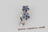 18kmounting015 wholesale 18K gold and sapphire pendant mounting