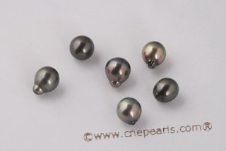 Btahiti1213AA 12-13mm Drop Shape Circle Baroque loose Tahitian pearls, AA Grade