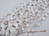 keshi028 wholesale side-drilled freshwater reborn pearl at 11.5-12.5mm