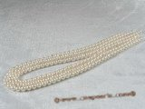aps5.5-6aa 5.5-6mm AA White Cultured Akoya Pearl strands 16-inch in length