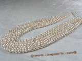 aps6-65 Round 6-6.5mm chinese saltwater pearl strands in wholesale,from AAA+ to A grades