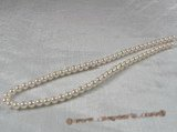aps6-6.5aaa 6-6.5mm AAA White chinese Cultured Akoya Pearl strands 16-inch in length