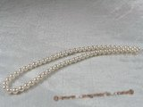 aps6.5-7a1 6.5-7mm A+ White Cultured Akoya Pearl strands 16-inch in length