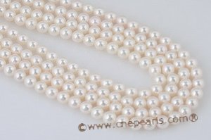 aps8.5-9 8.5-9mm lare size white Cultured akoya pearl strands in white color
