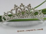 hcj002 Gorgeous Rhinestone Majesty Bridal comb headpiece