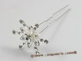 hcj003 Rhinestone Flower Bridal Hair Pins Hair Pin