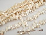 blister003 five strands 10*24mm nature white blister cultured pearls