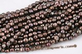 blister042 11-13mm Brown Color Freshwater Baroque Pearl Strand