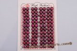 blpb011 wholesale 7.5-8mm AAA grade wine red bread loose pearl