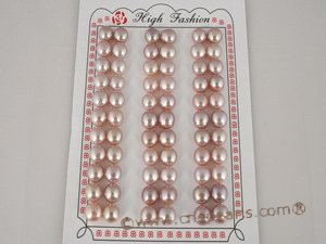 blpb026 8-8.5mm Freshwater loose bread pearl AAA Grade in wholesale