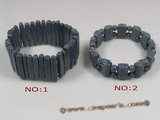 cbr034 sitck blue coral beads stretchy bracelets whoelsale