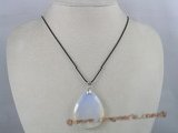 cp015 35*45MM white tear drops faceted chinese crystal Pendant