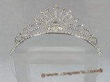 hj010 Gorgeous Rhinestone Majesty Bridal tiara