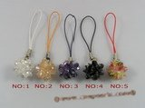 hsg010 multicolor zircon cell phone charms wholesale
