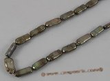 keshi021 15inch 6*15mm oblong cultured pearls strand in wholesale