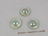 lmbp006 20-21mm loose AA Grade grey mabe pearl for jewelry design