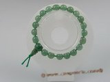 pb008 8mm Power Green Aventurine elastic bracelets