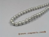 pps016 9-10mm grey potato shape pearls strand wholesale
