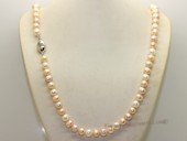 rpn260 Smart 24inch 8-9mm mixcolor potato pearl Matinee Necklace