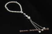 rybr023 Handcrafted 5.5-6mm akoya pearl Rosary Jewelry