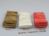 "sbr012 45mm stick shell beads stretchy bracelet wholesale 7.5"" in length"