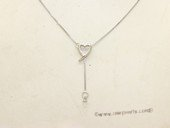 sc003 18inch 925 Sterling silver pendant chain