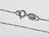 sc007 16inch 925 Sterling silver chain use for pendant