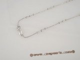 sc028 925 Sterling silver chain use for pendant in wholesale,16inch