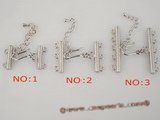 snc008 sterling silver adjustable clasps for multi-stranded jewelry
