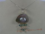 sp071 925 sterling silver-encased mabe pearl pendant in wholesale