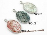 sp132  20*35mm Oval shape pattern mother of pearl shell pendant necklace