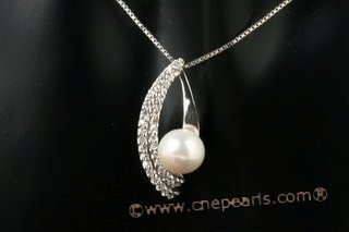 spp191 Romance Collection 8-8.5mm bread pearl 925silver pendant