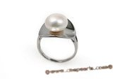spr113 11-12mm Bread Pearl Sterling Silver Ring