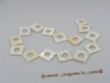 ss008 Five strands 20mm square shell beads wholesale