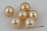 ssp13-14mm 13-14mm AA grade Nature Golden south sea loose pearl on sale