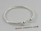 STBR005 classic 925silver hollow Bangle bracelet onsale