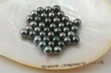 Tahiti10-11aa 10-11mm natural black tahitian loose pearls on sale,AA Grade